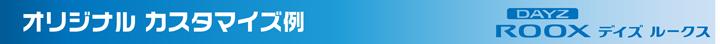 オリジナルカスタマイズ例 DAYZROOX デイズルークス